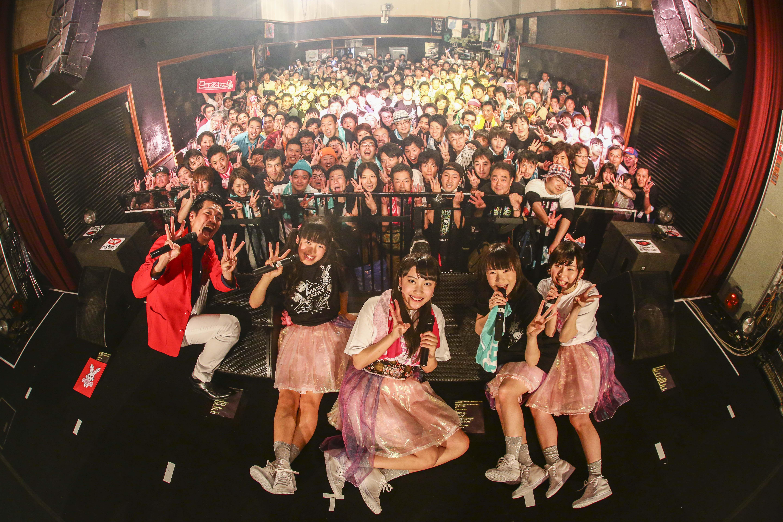 ワンマン公演が完売!!メジャーデビュー日が7月21日にワンマン公演が完売!! はんなりアイドルユニットのミライスカート、未来に輝け、ミラー!!