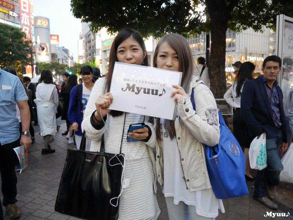 渋谷ハチ公で100組インタビューするとどうなるのか?|Myuu♪
