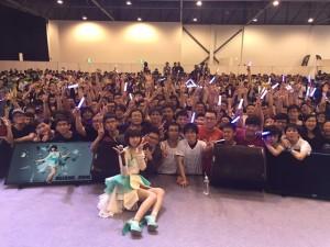 綾野ましろ 初海外ライブChara Expo 2015出演!3rd single「infinity beyond」今夏リリースも発表!!