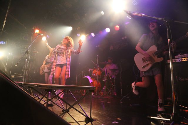[LIVEレポ] GIRLS ROCK SPLASH!! 2015 梅雨