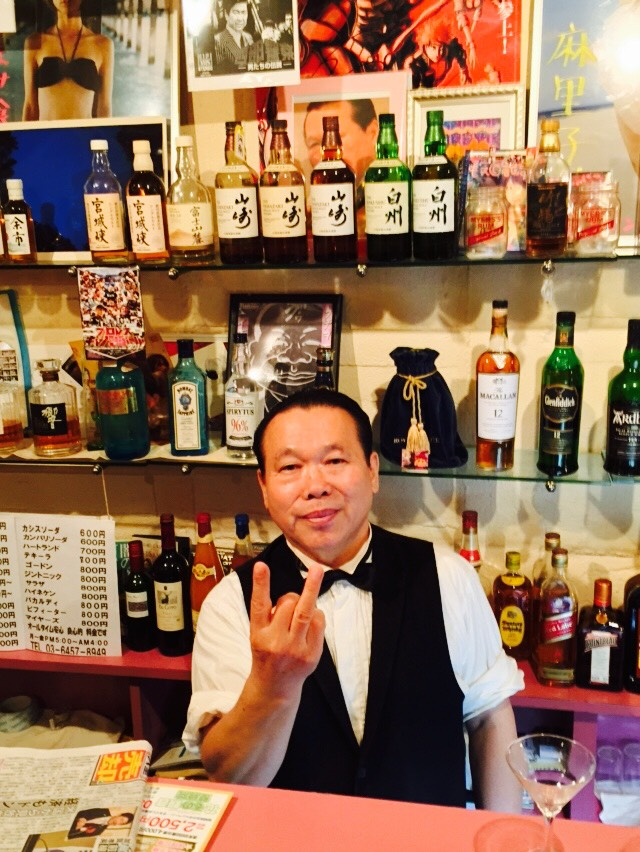 渋谷のカリスマ ジミー四谷に降臨