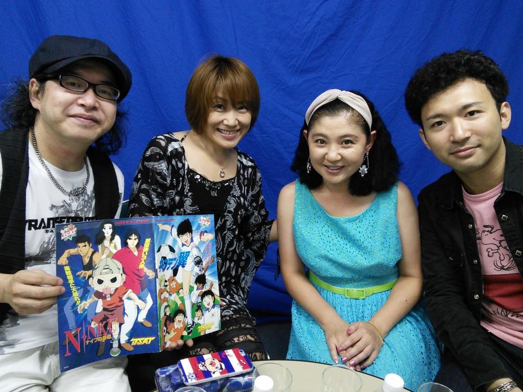 ゲストに声優などマルチに活動中の松本梨香さんが登場! 酩酊状態の放送で、毒舌や本音がガンガン登場。