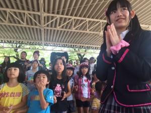 2oLove to Sweet Bulletが山口県 徳山動物園で『どうぶつとまちおこし』イベント。ガチャピン、ムック、木村健一郎氏(周南市市長)と斬新なお姉さん的役割をこなす?!|Myuu♪