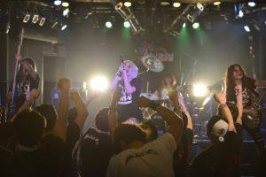 「叫べ!爆女祭 Vol.2」5日目!!CREAがダブルヘッダー!!バンドだソロユニットだなんて関係ない!!心の叫びを熱狂に変えて騒いでこそが「爆女祭」らしいライブ!!