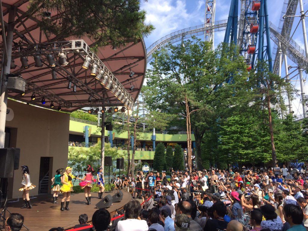 ラクーアガーデンステージを舞台に、黄金時代がアイドル界の大海原に出航!! 「目標は東京ドームを制覇」と力強く宣言!!|Myuu♪
