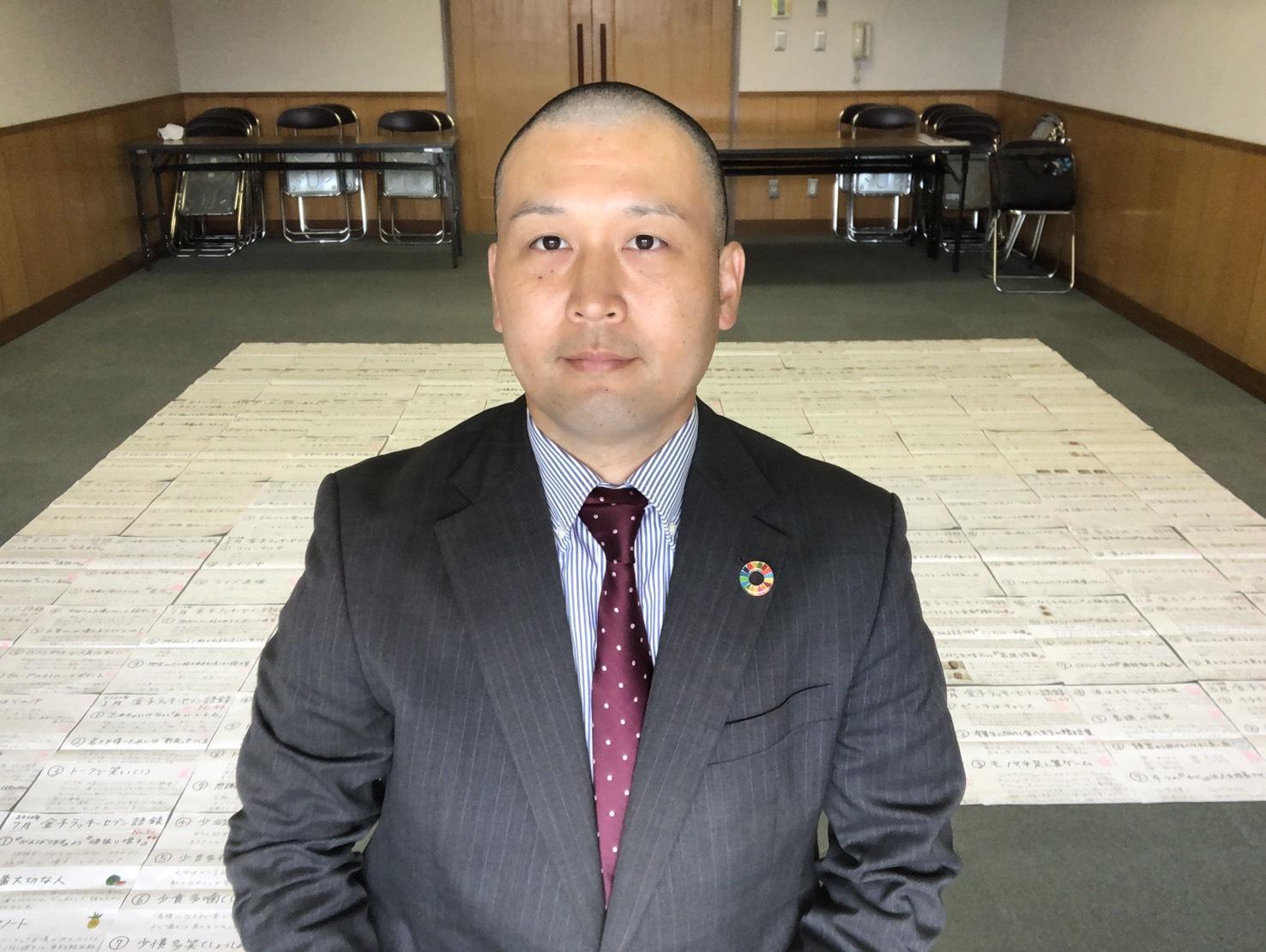日本ご当地アイドル活性協会 代表 金子正男(45)